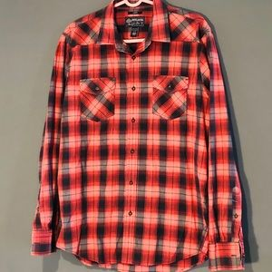 Men's Casual American Rag Buttoned Shirt (Large)